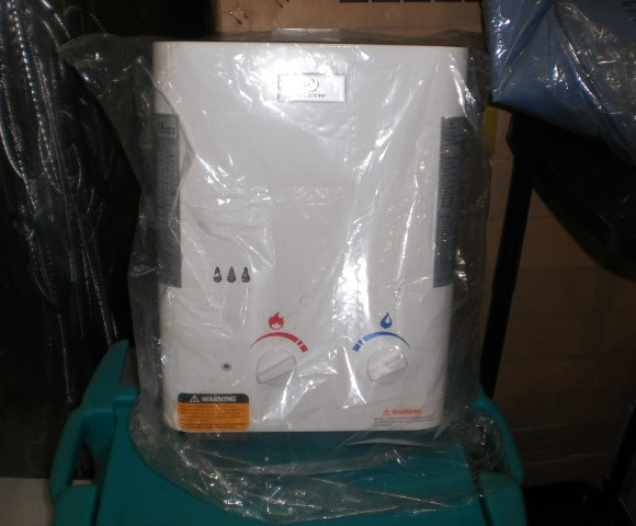 Ταχυθερμοσίφωνας γκαζιού 10 Lt