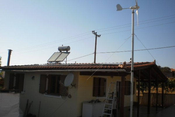 Αυτόνομο φωτοβολταϊκό σύστημα 2600 Watt
